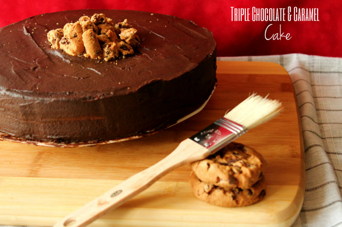 Chocolate and Caramel cake