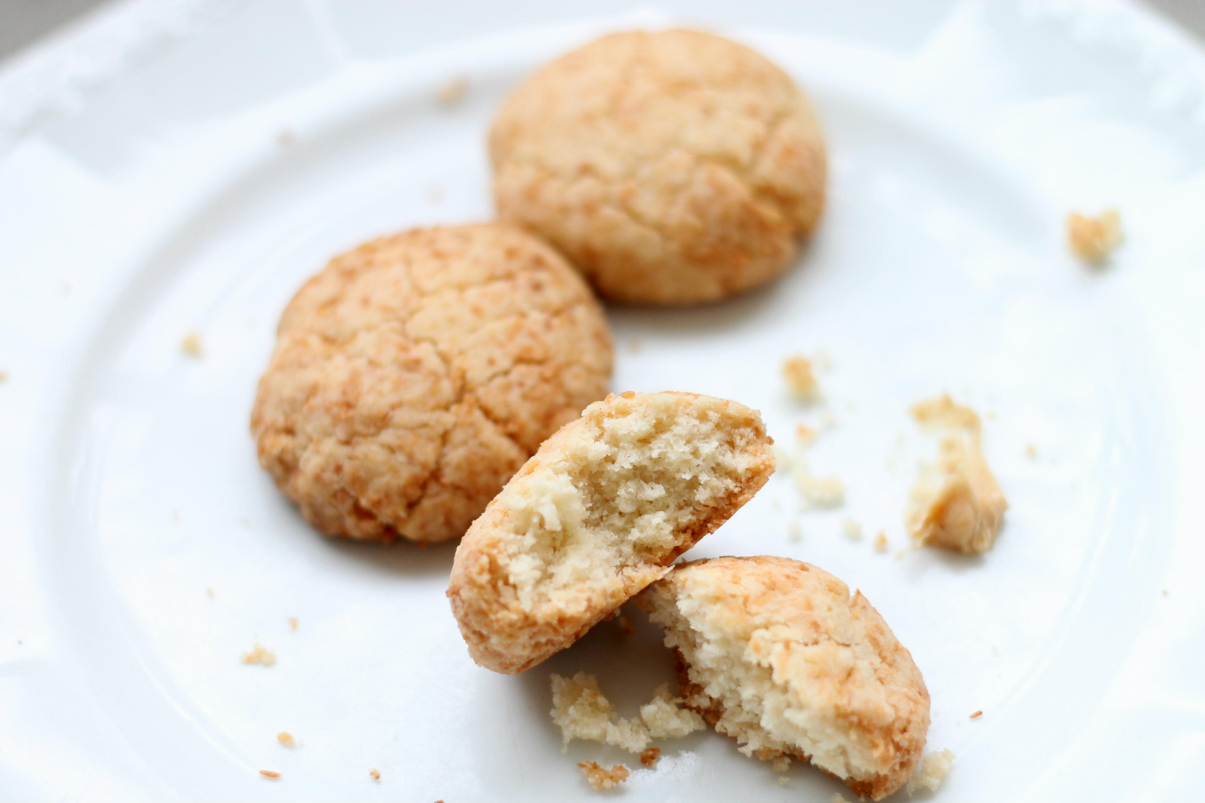 Coconut Crumbles Biscuits -
