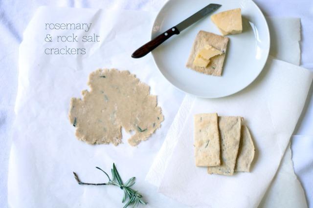 rosemary and salt crackers recipe