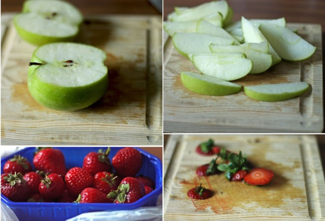 stewed apple and strawberry recipe