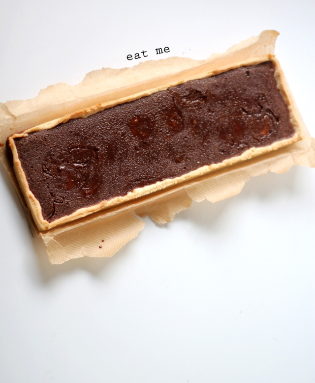banana and chocolate tart recipe