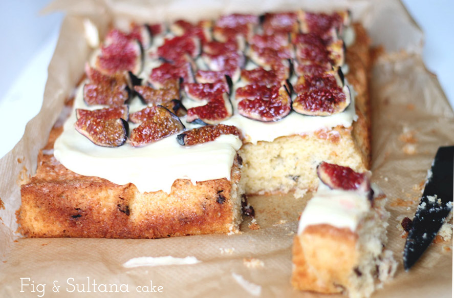 fig and sultana cake recipe
