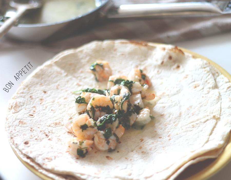 coriander and lime prawn recipe