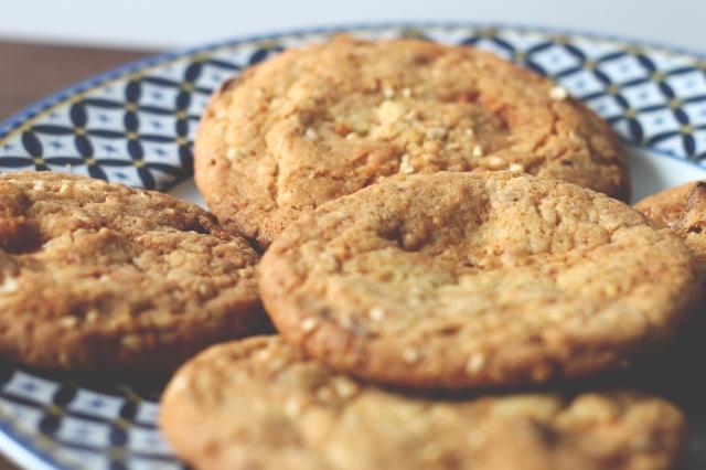 Hazelnut and chocolate cookie recipe
