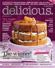 Trisha Jones wins delicious. magazine bake off