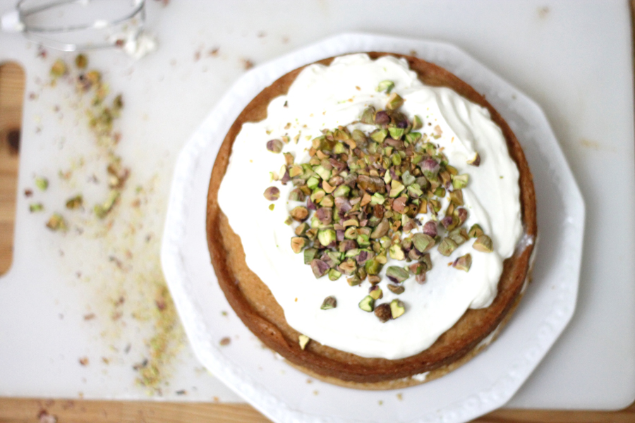 pistachio and coffee cake recipe