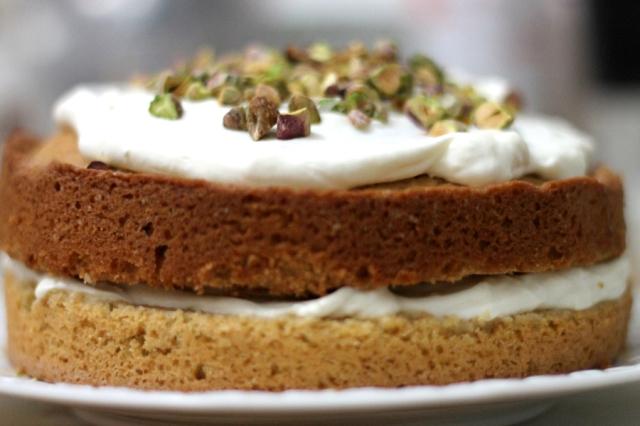 pistachio and coffee cake recipe