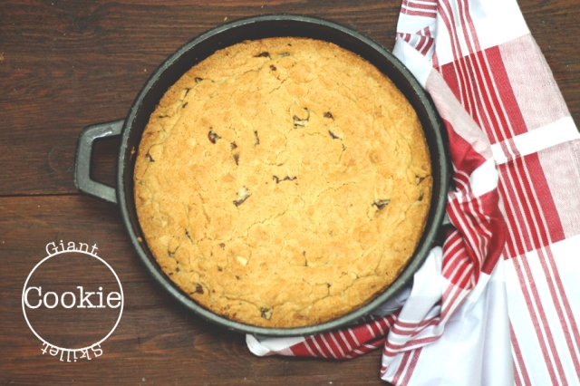 Giant Skillet Cookie recipe