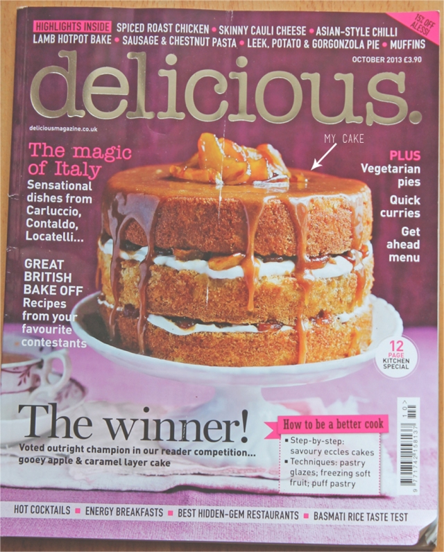 delicious magazine bake off winner | Sugar Thumb