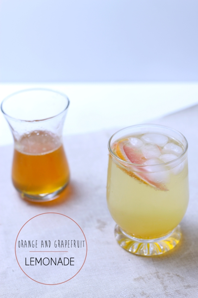 orange and grapefuit lemonade recipe